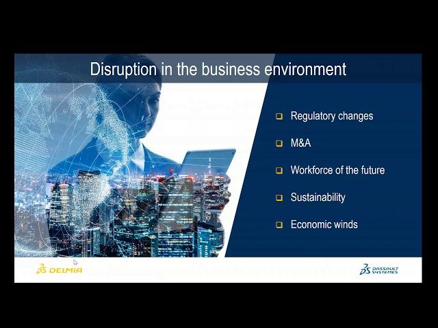 Webinar: Planning in a disruptive world   DELMIA