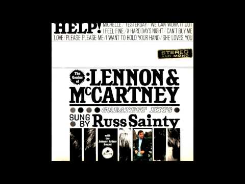 Russ Sainty with the Johnny Arthey Sound - Help! (The Beatles Cover)