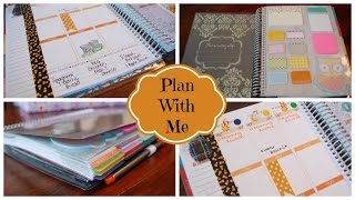 PLAN WITH ME! Weekly Planning Session: October 6-12, 2014