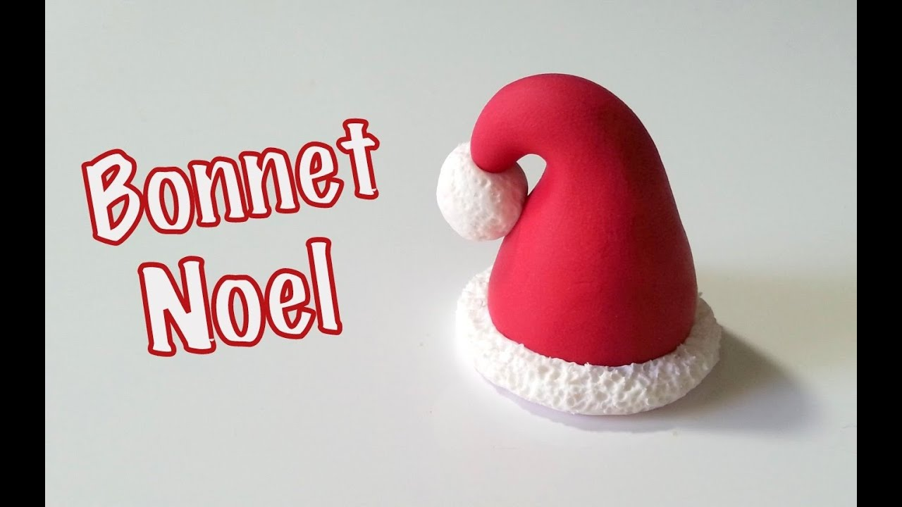 tuto fimo le bonnet de noel youtube. Black Bedroom Furniture Sets. Home Design Ideas