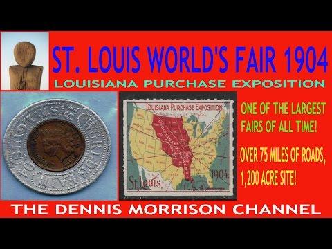1904 ST. LOUISWORLDS FAIR / LOUISIANA PURCHASE EXPOSITION - A LITTLE FUN HISTORY