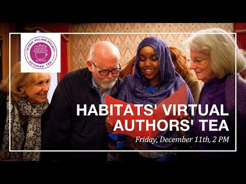 LIVE Global Village Project Virtual Authors' Tea December 2020
