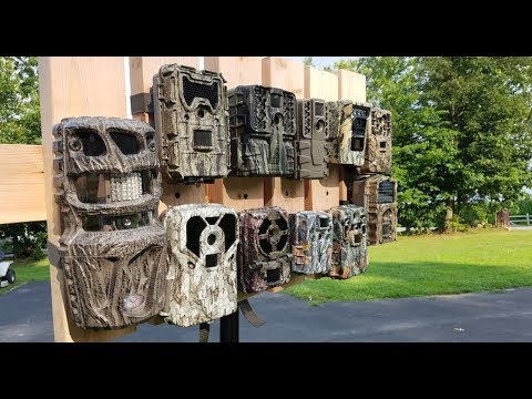 11 Trail Cameras Reviewed (2017) [FULL REVIEW IN DESCRIPTION] - Video & Audio Comparison