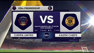DStv Premiership | Chippa United v Kaizer Chiefs | Highlights