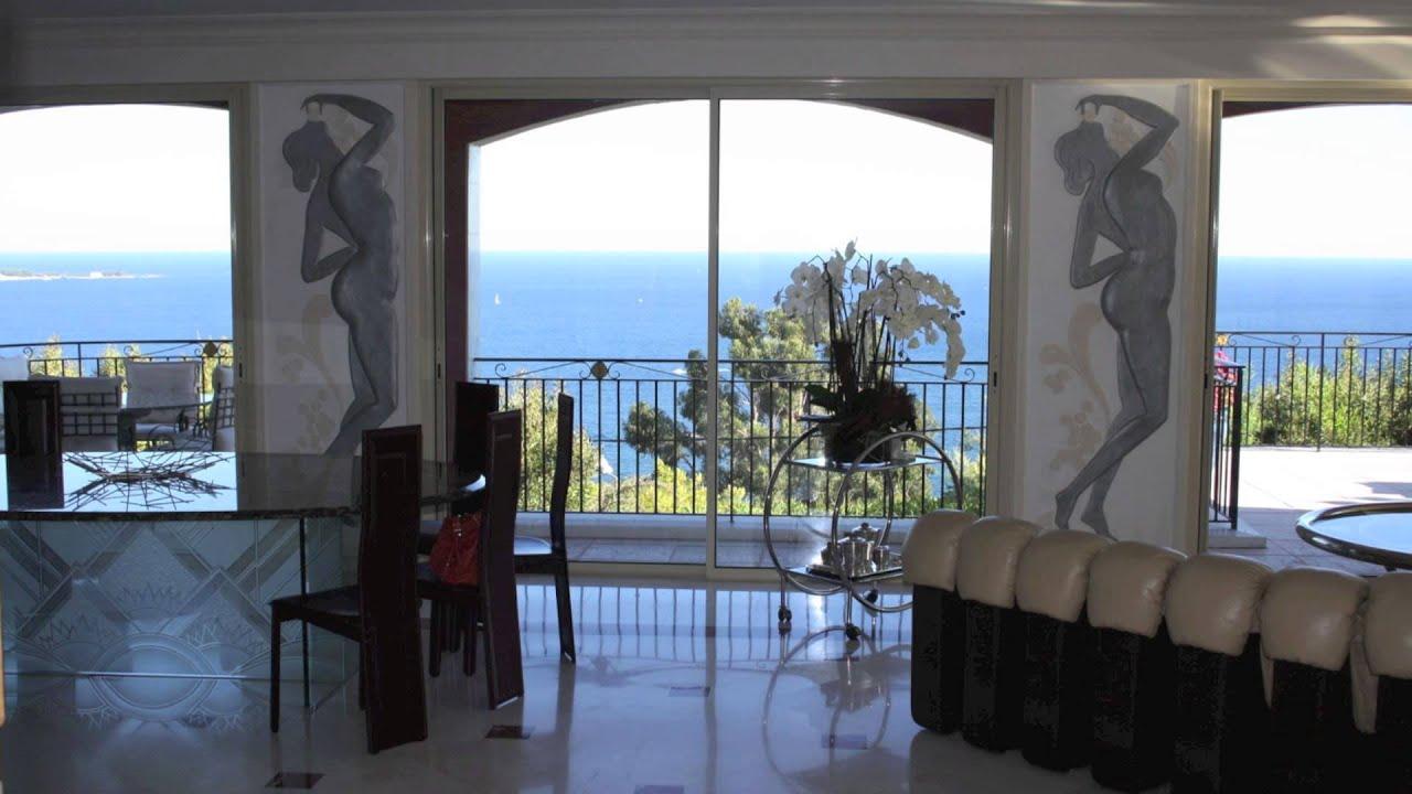 golfe juan bord de mer vente villa 8 pi ces de 600 m. Black Bedroom Furniture Sets. Home Design Ideas
