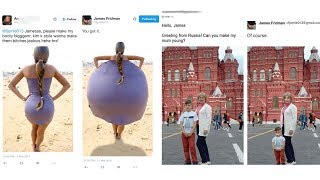 Why You Should Never Ask This Guy To Photoshop Your Photos By James Fridman