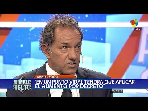 Scioli rompió el silencio: No hay que tener un cargo para estar comprometido con el país