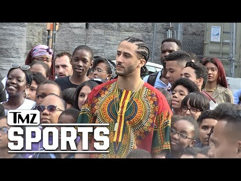 Colin Kaepernick In Top Secret Harlem Photo Shoot | TMZ Sports