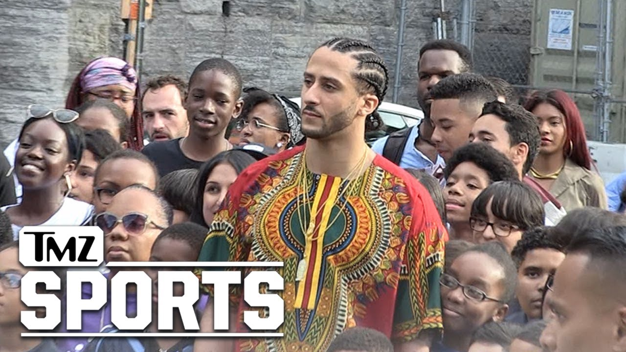 Colin Kaepernick | In Top Secret Harlem Photo Shoot | TMZ Sports