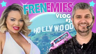 Trisha & Ethan Hijack A Hollywood Tour Bus - Frenemies Vlog #2