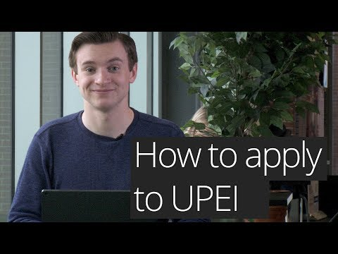 How to apply to UPEI