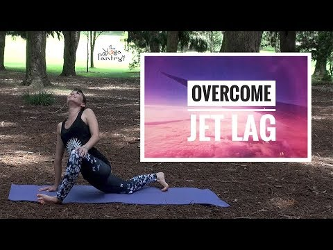 Over come Jet Lag - During and after your flight.