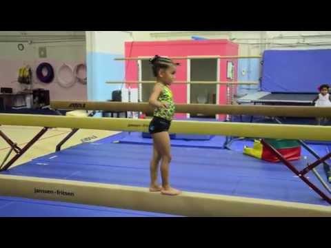 Ilani - 4 Year Old Gymnastics Super Star