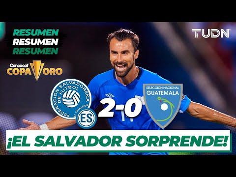 Resumen y goles | El Salvador 2-0 Guatemala | Copa Oro 2021 | Grupo A | TUDN