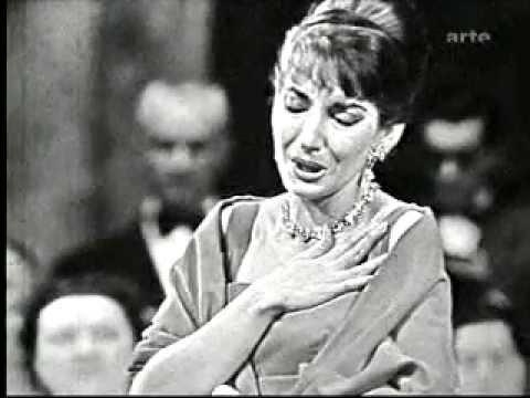 Maria callas bellini norma 39 casta diva 39 1958 youtube - Norma casta diva bellini ...