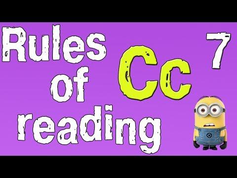 Английский для начинающих. Правила чтения в английском языке. Буква С. (часть 7)