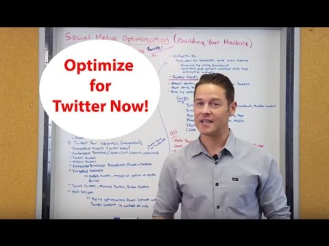 Twitter Optimization, Optimize Your Website for Twitter. John Lincoln, Ignite Visibility