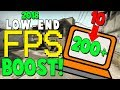 CS:GO FPS BOOST! (2018) FOR LOW-END PCs/LAPTOPS!