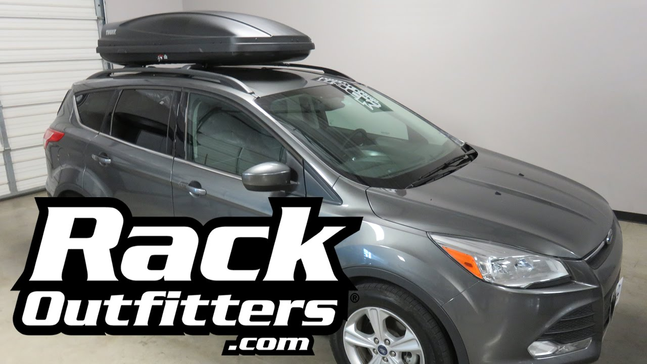 Ford Escape With Thule Force L 628 Cargo Box Luggage