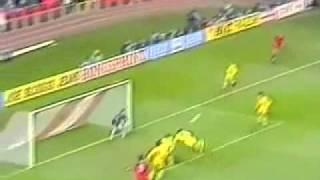 Tara Galilor( Wales)- ROMANIA 1- 2 Qualifications World Cup 1994 1st Half