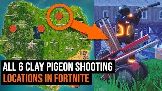 Скачать ALL 6 Clay Pigeon Shooting Locations In Fortnite