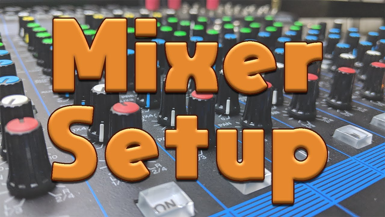Mixer Setup for Streaming (and how to separate mic for discord) by  TimeTravelPenguin