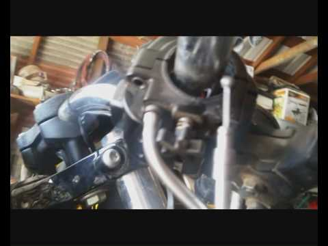 Throttle Cable Install Harley Sportster - YouTube
