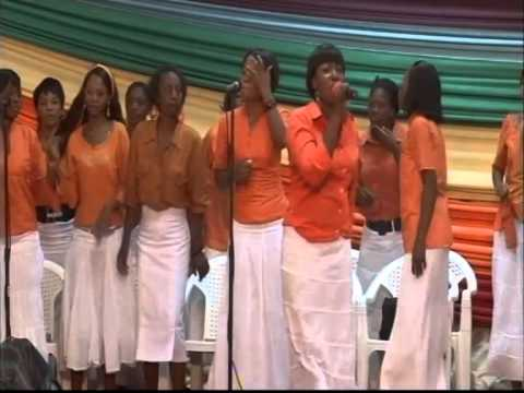 WINNERS CHAPEL LUSAKA ZAMBIA - Mrs Mupashi Open praise and worship
