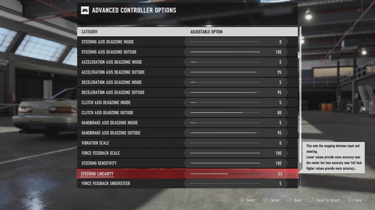 Forza Motorsport 7 Wheels Settings For 900 Degrees Pc Youtube