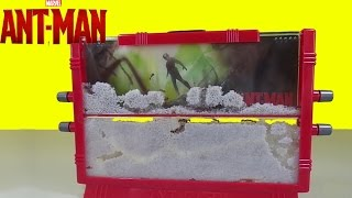 Marvel Ant-Man Ant Farm with Live Ants New Toy Surprise Kids does Science!