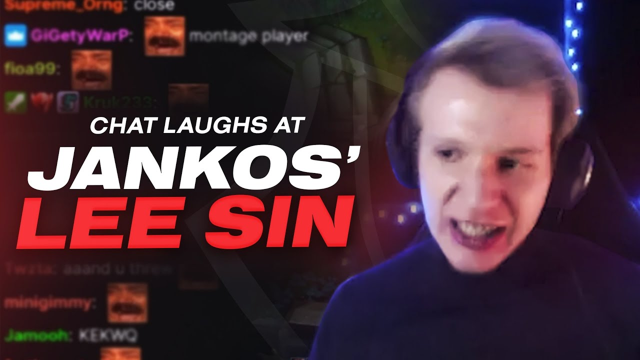 Chat Laughs At Jankos' Lee Sin   G2 Stream Highlights