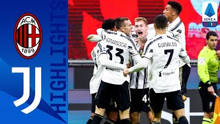 Milan 1-3 Juventus | Goals from Chiesa & McKennie Shock the San Siro | Serie A TIM