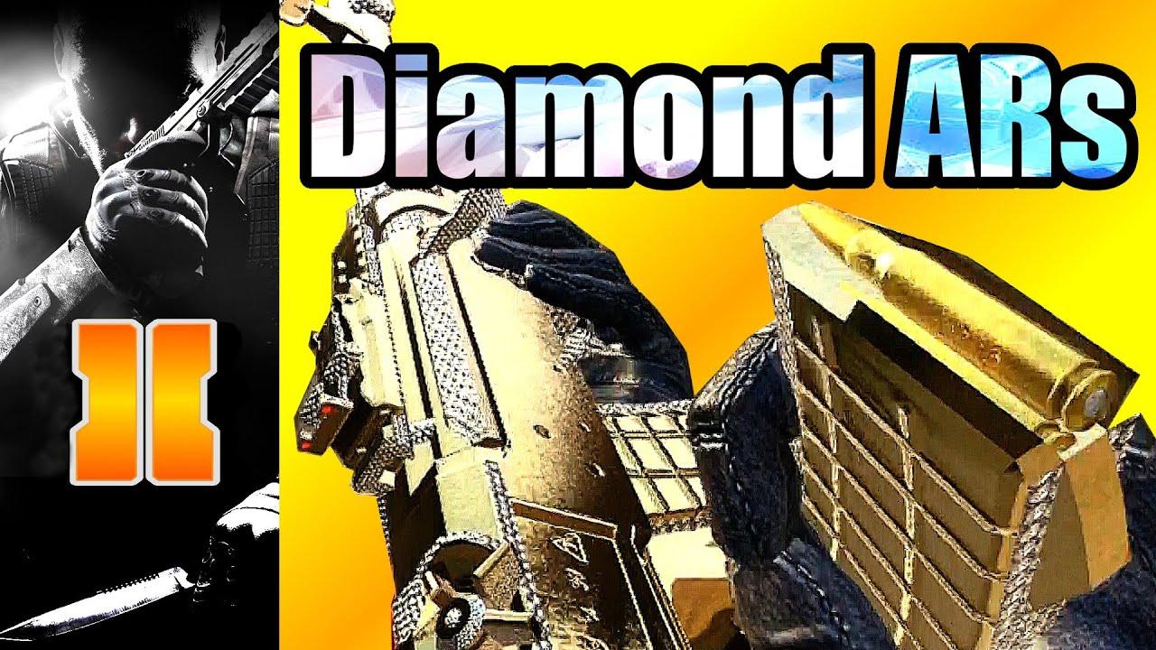 Black Ops 2 - Diamond Camo Assault Rifles Showcase (Wii U ...