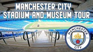 Manchester City Stadium Tour & Museum - Etihad Stadium, Manchester, England
