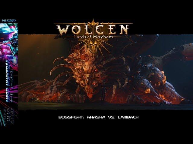 Wolcen: Lords Of Mayhem - Bosskampf: Lambach - Eine Mage teilt aus ✩ Deutsch ✩ 1440p ✩ PC