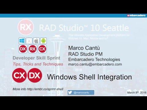 Developer Skill Sprint: Windows Shell Integration - Marco Cantu