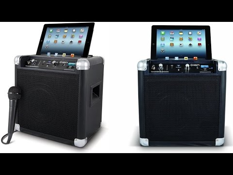 ION Tailgater Bluetooth Portable Speaker System with USB Charger and Built In Digital AM-FM Radio