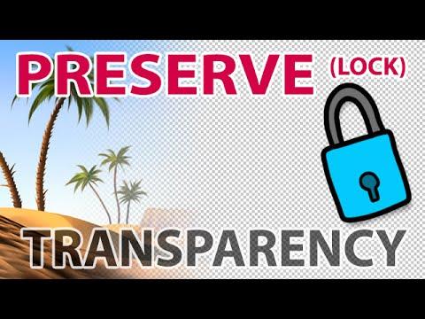 Corel Painter Tutorial: Preserve Transparency