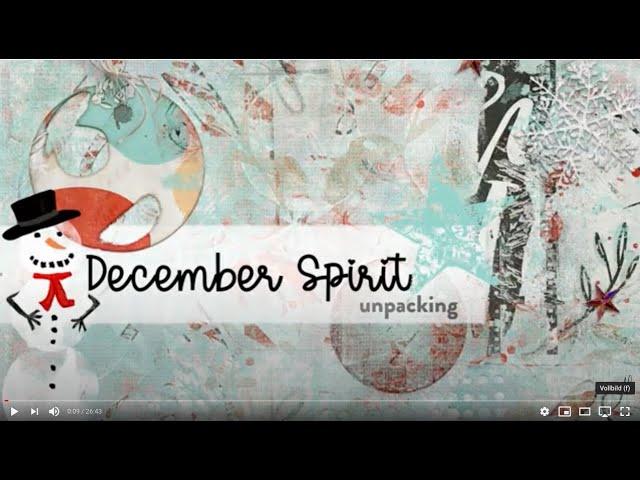 Unpacking December Spirit Collection