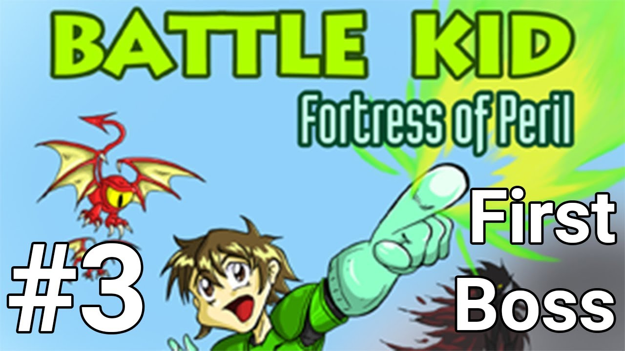 Battle Kid: Fortress of Peril #3 - The First Boss