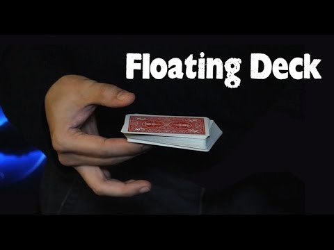 Floating deck - A very deceptive card trick revealed