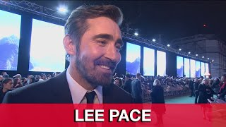 Lee Pace Thranduil Interview - The Hobbit 3: The Battle of the Five Armies World Premiere