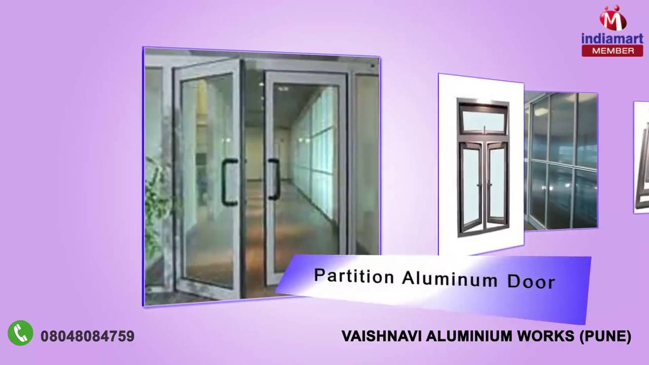 Aluminum Doors And Windows By Vaishnavi Aluminium Works Pune