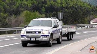 police car US Military Police USAG Bavaria JMRC Hohenfels 709th Battalion