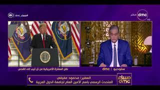 مساء dmc - مداخلة السفير محمود عفيفي | المتحدث الرسمي بإسم الأمين العام لجامعة الدول العربية |