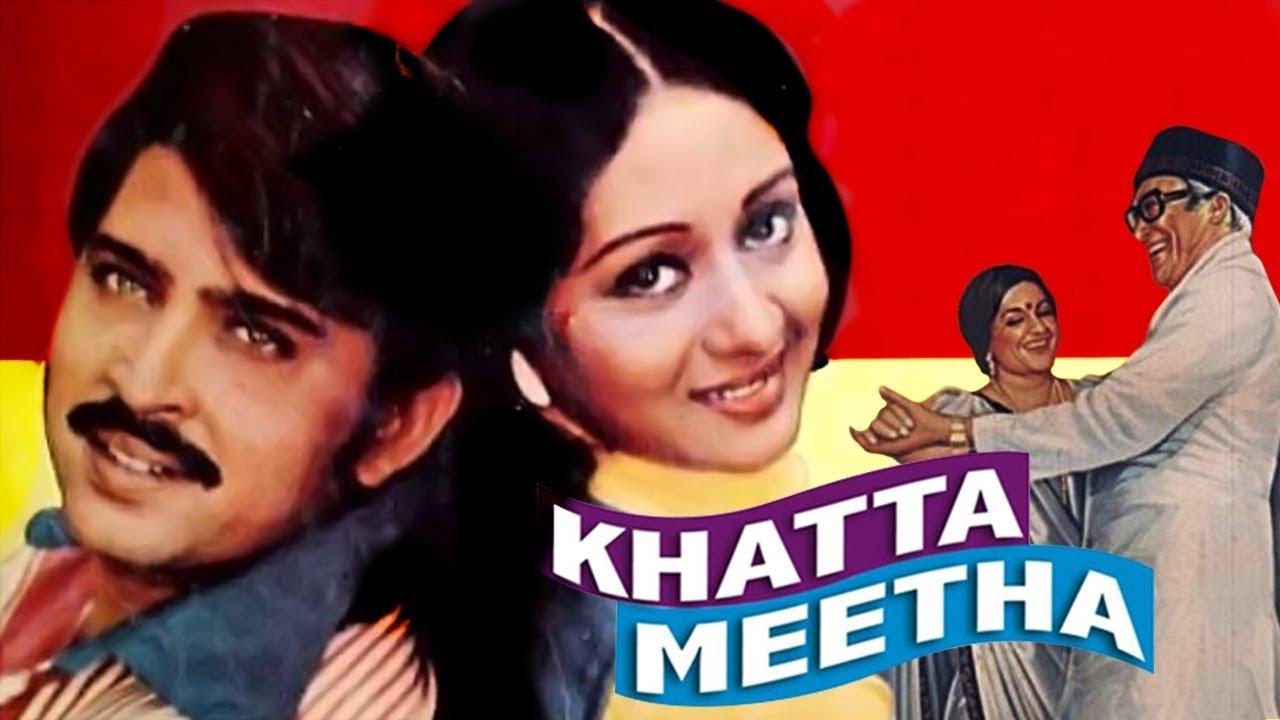 Download Khatta Meetha (1978) Full Hindi Movie   Rakesh Roshan, Ashok Kumar, Bindiya Goswami