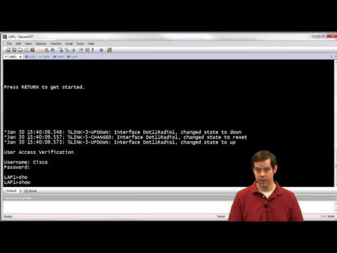 CCIE Wireless Lab Training Video :: AP Failover and High Availability