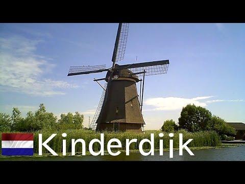 HOLLAND: Kinderdijk -19 Dutch windmills [HD]