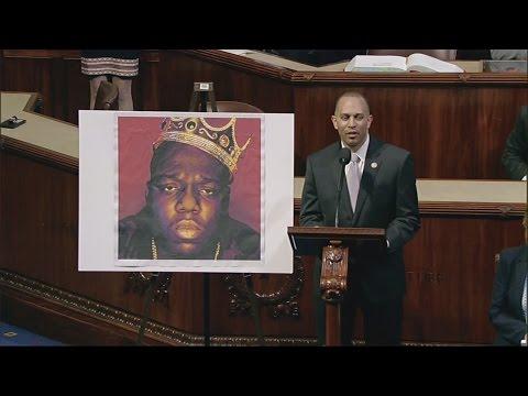 US congressman raps Biggie Smalls lyrics on House floor