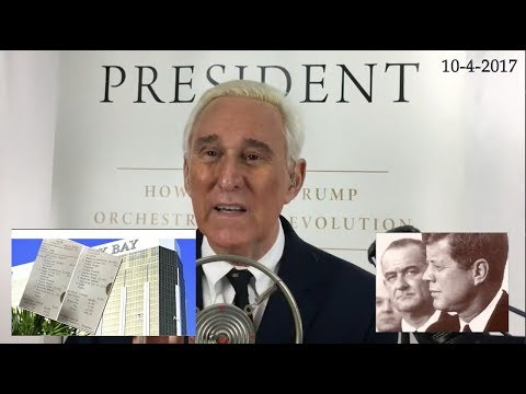 Roger Stone Discusses 3100 Classified JFK Documents News & Current events 10/4/2017